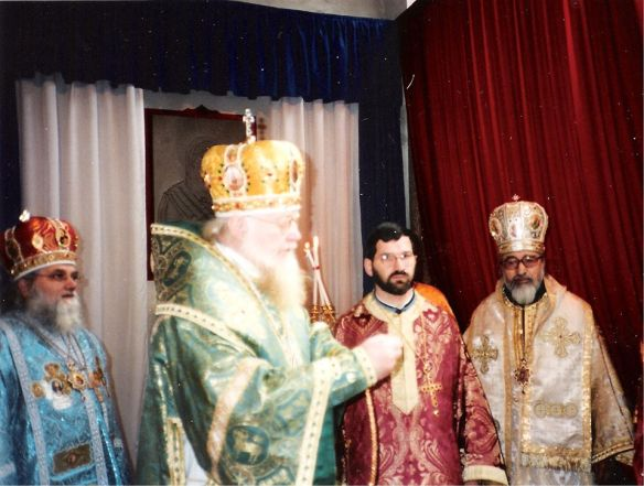 Архієрейської хіротонії єпископа Володимир під юрисдикцією Святого Української Православної Церкви - Київського патріархату - грудень 1995